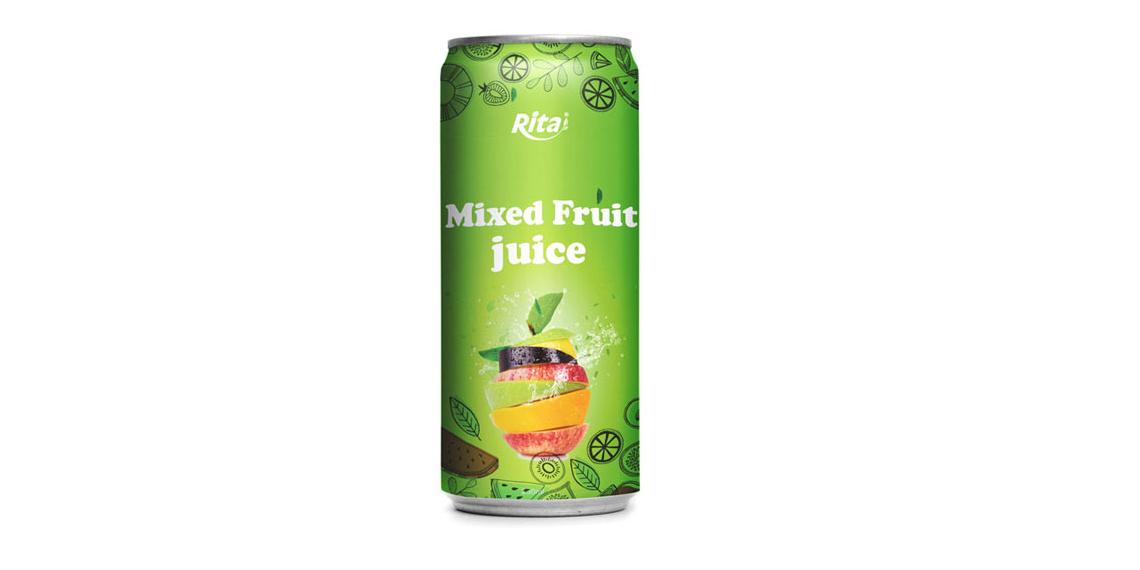 250ml Mixed fruit juice drink