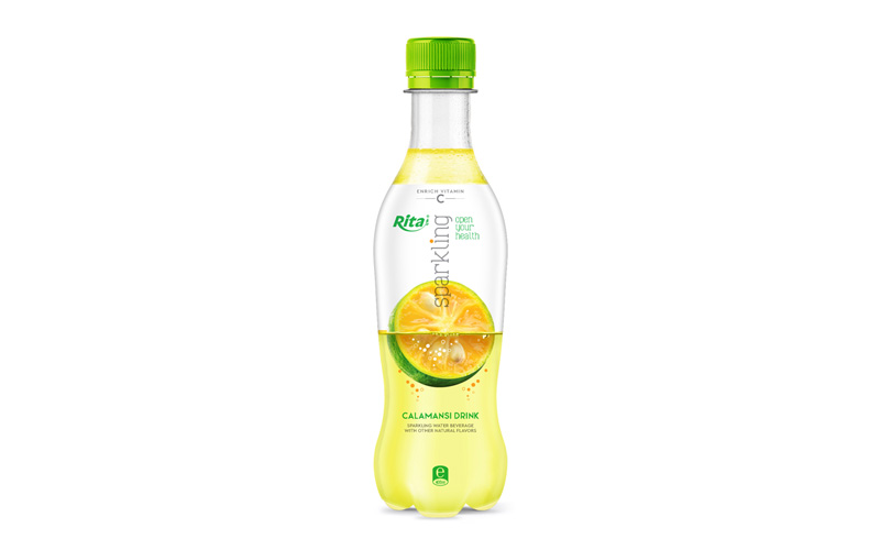 Sparkling fruit calamansi flavor 400ml