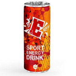 Energy drink 250ml aluminum canned from RITA US