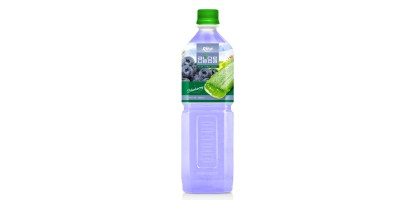 Aloe vera with blueberry flavor 1000ml of RITA beverage