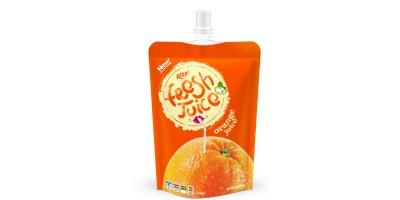 Bag orange juice 300ml of RITA US