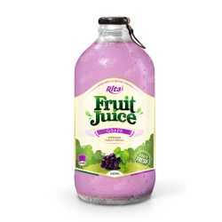 grape fruit juice 340ml glass bottle from RITA us