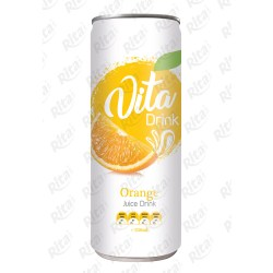 Orange juice drink 250mml from RITA US