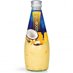 Coconut milk with vanilla flavor 290ml glass bottle  from RITA US