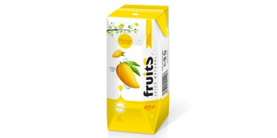 fresh mango juice Prisma Tetra pak 200ml from RITA US