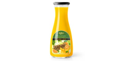 Fruit juice orange rich in vitamin C from RITA US