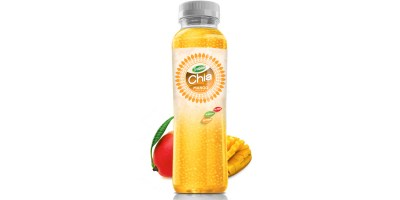 350ml Chia Seed Mango Flavour Pet bottle from RITA US