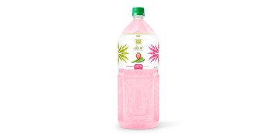 Aloe vera with strawberry juice 2000ml Pet Bottle  from RITA us