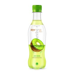 Sparkling fruit kiwi juice  flavor 400ml Pet bottle