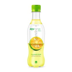Sparkling fruit calamansi flavor 400ml Pet bottle