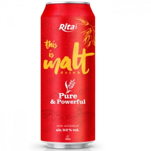 Pure powerful malt drink 500ml